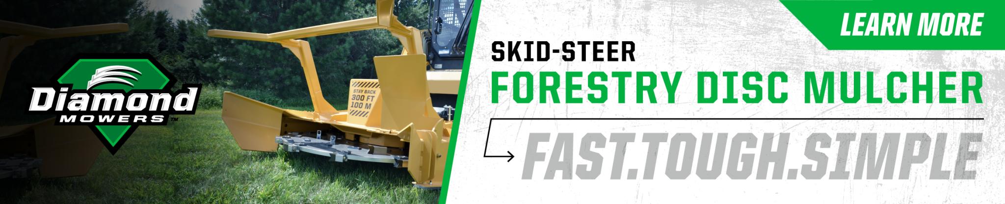Diamond Mowers® – Tractor Mowers | Skid-Steer & Excavator Attachments