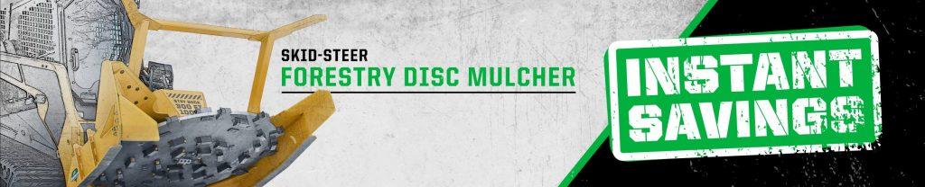 Disc Mulcher Instant Savings
