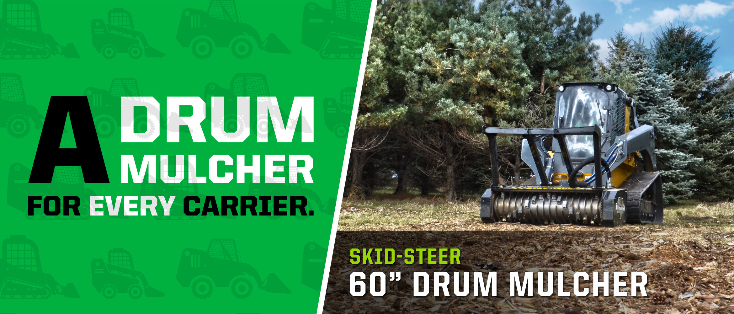 "60"" Drum Mulcher"