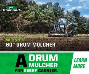 Low Flow Drum Mulcher